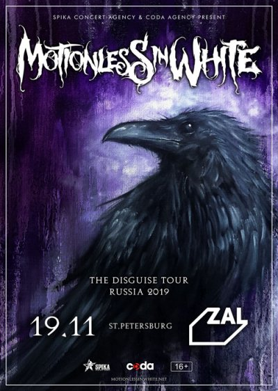 19.11.2019 - Club Zal - Motionless In White