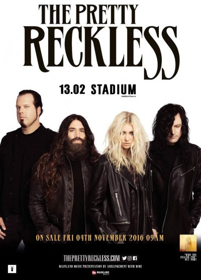 13.02.2017 - Москва - Stadium - The Pretty Reckless