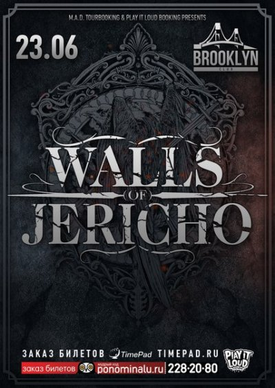 23.06.2016 - Brooklyn - Walls Of Jericho