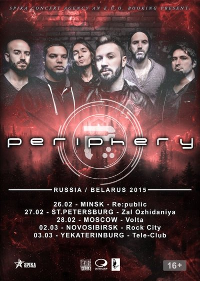 Periphery - Russian Tour 2015