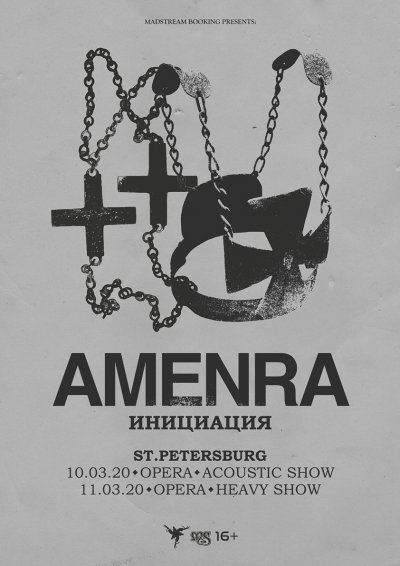 11.03.2020 - Opera Concert Club - Amenra (Heavy)