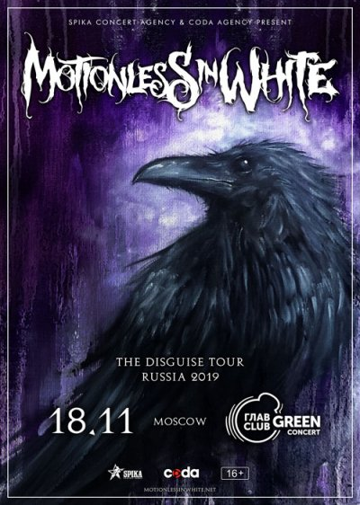 18.11.2019 - Главclub Green Concert - Motionless In White