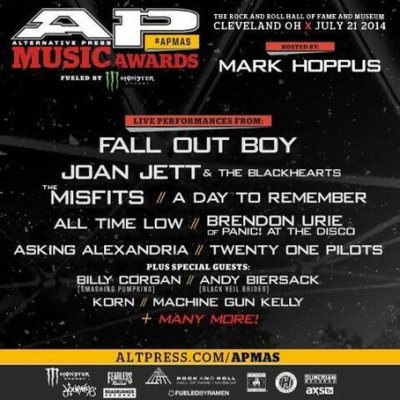 Выступления на Alternative Press Music Awards 2014