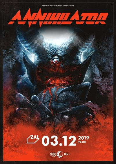03.12.2019 - Club Zal - Annihilator