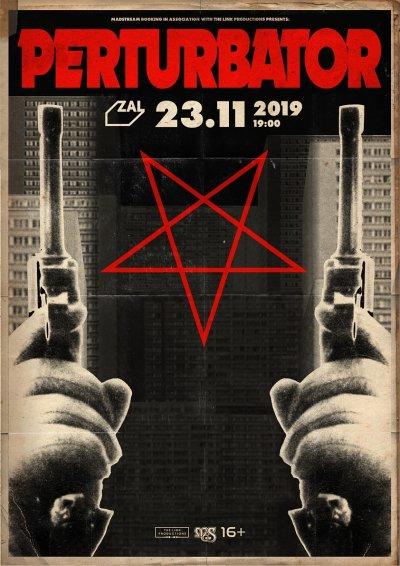 23.11.2019 - Club Zal - Perturbator