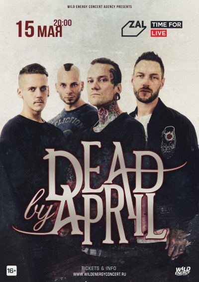 15.05.2020 - Club Zal - Dead By April